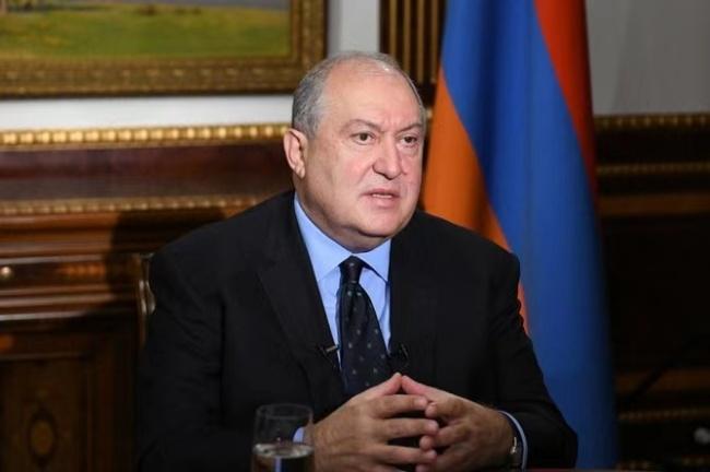 亚美尼亚总统结束诊疗 已返回工作岗位