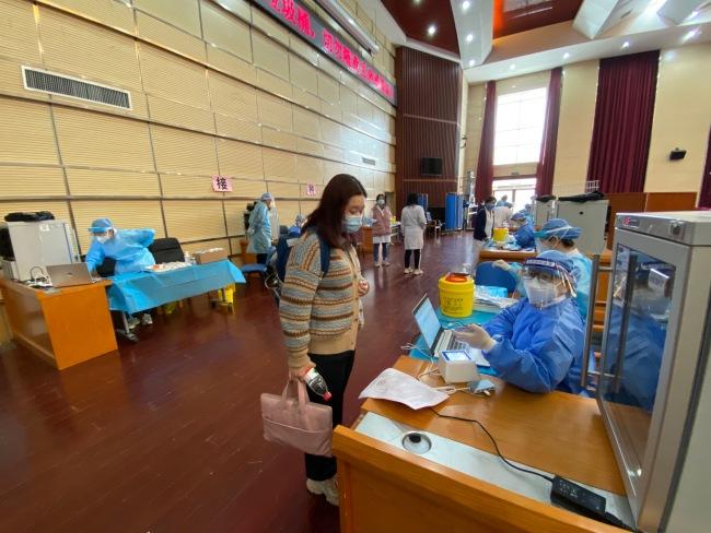 良乡大学城:每所高校都有接种点,将为3万余名返校师生接种