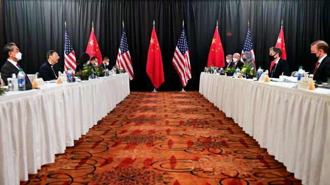 中美高层对话:美方开场白严重超时  中方作出严正回应