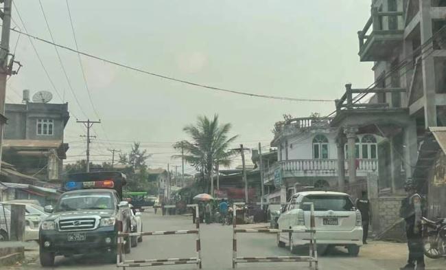 缅甸腊戌一警署遭遇炸弹袭击
