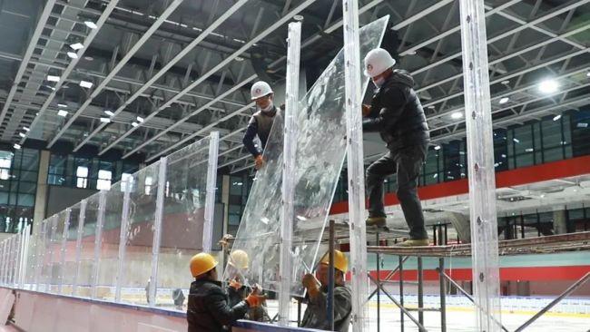 冬奥测试进入倒计时,带你揭秘五棵松冰球场的那些小秘密
