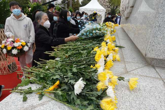 北京公祭生态葬逝者!生态葬,同样是对生命深切的尊重