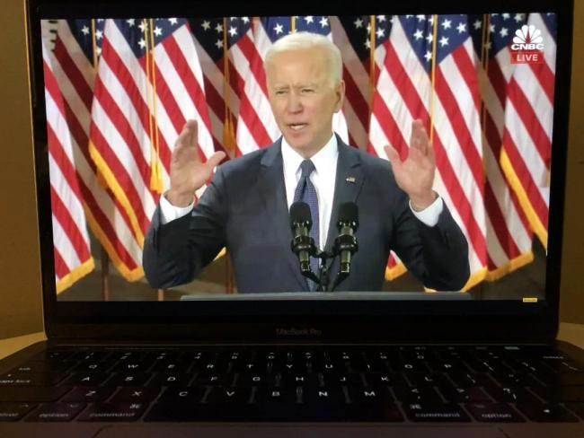 拜登:这是美国重获世界领导地位的唯一途径
