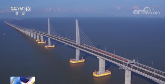 港珠澳大桥助力粤港澳大湾区高质量发展