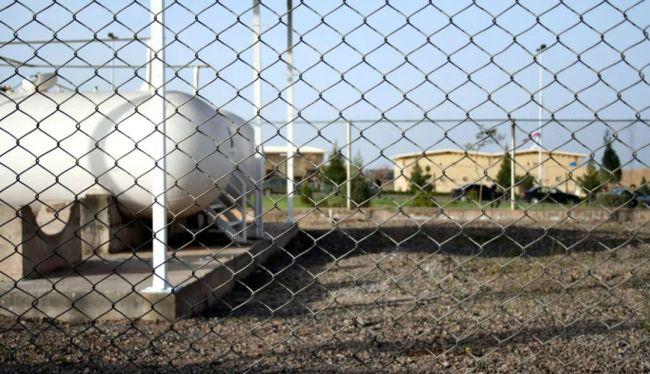 ▲资料图片:伊朗纳坦兹核设施一角。(新华社)