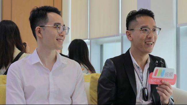 港藉创业青年许柏鸿、姚志佳:讲好中国故事,让更多人看到中国发展的真实情况