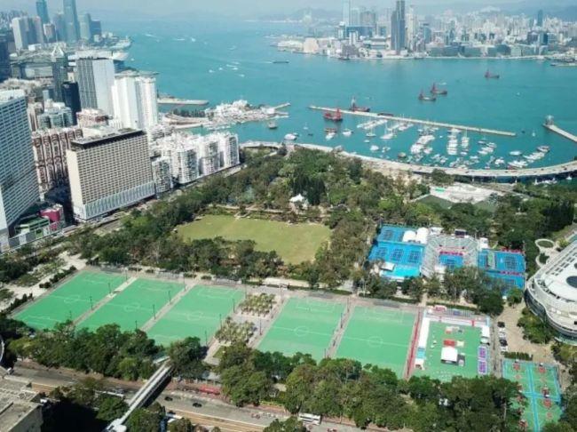香港铜锣湾维多利亚公园(资料图)