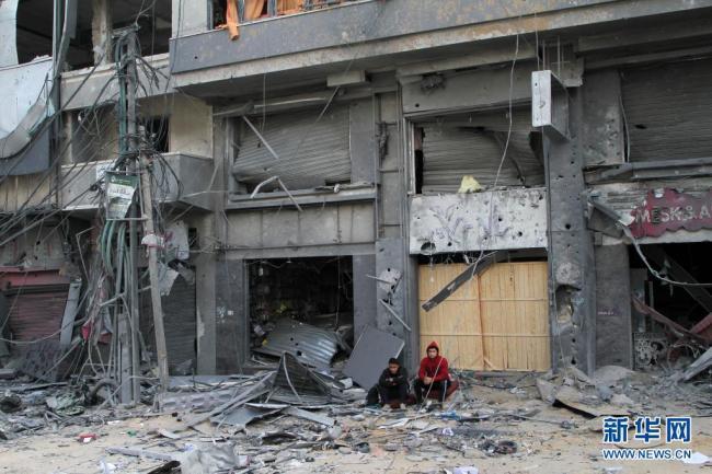 以色列称将继续对加沙地带进行军事打击