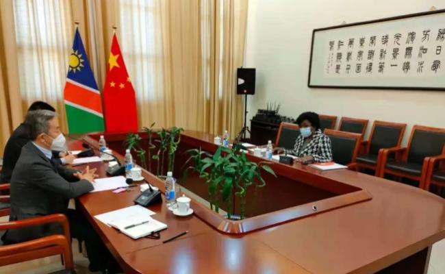 纳米比亚人组党总书记:将进一步学习中国共产党先进的治国理政经验
