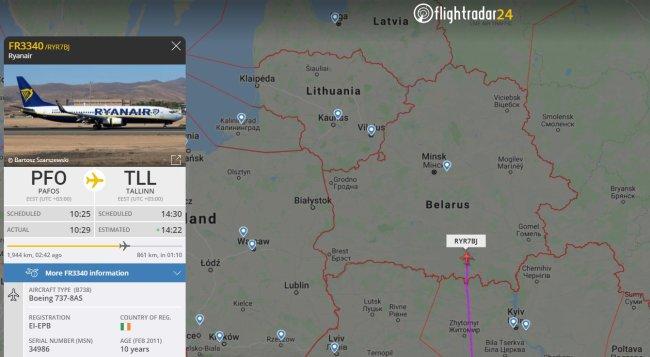 多国航空绕飞白俄罗斯,除了自己出事的瑞安航空
