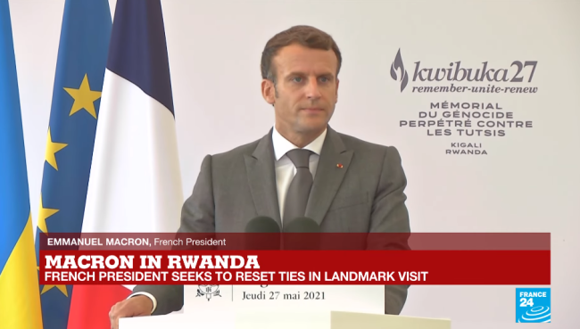 法国领导人时隔11年首访卢旺达,为大屠杀寻求宽恕