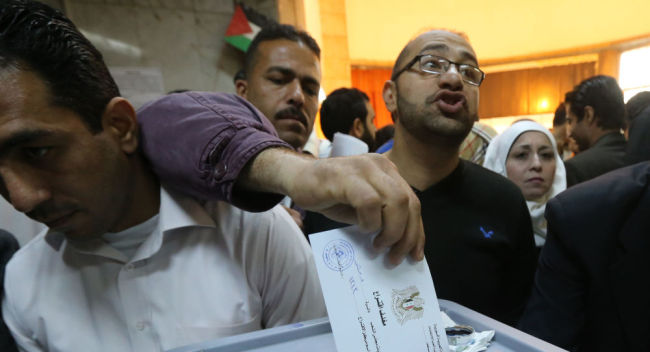 叙利亚现任总统巴沙尔·阿萨德在总统选举中获胜