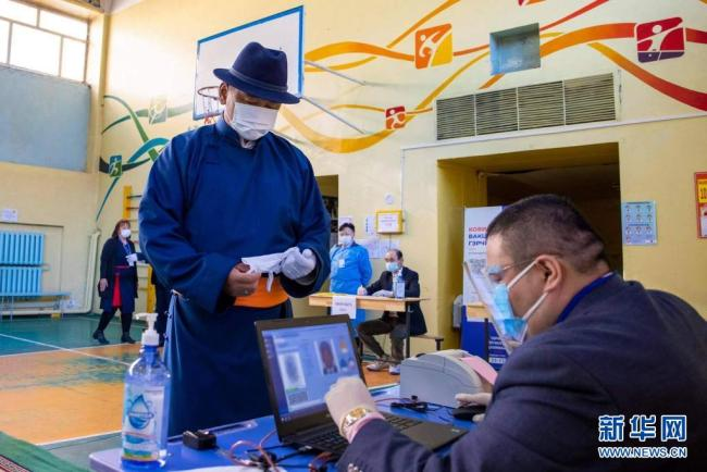 呼日勒苏赫在蒙古国总统选举中获胜