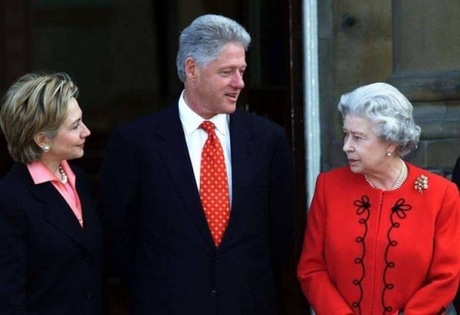 英女王将会见拜登 盘点她与美前总统们会见的瞬间