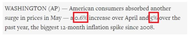 """环球深观察丨""""所有东西都在涨价""""背后的美国现实"""