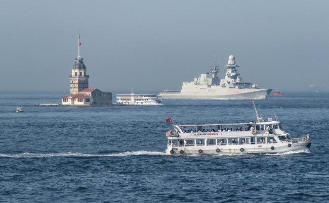 与俄发生多次冲突后,北约向黑海增派多艘军舰