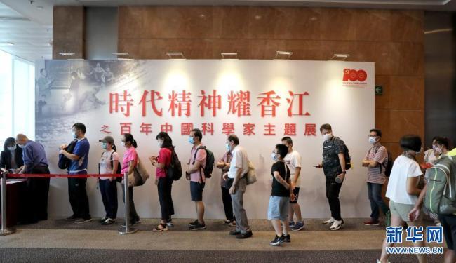 """特写:香港市民观""""壤""""热情不减"""