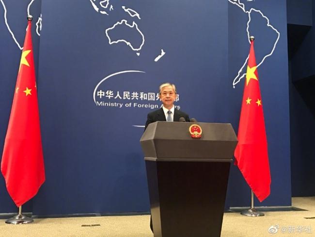 外交部说美国在溯源问题上搞政治操弄意在推责中国