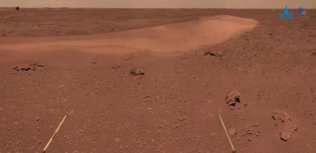 祝融号带你看火岩火尘火沙,这是火星沙丘