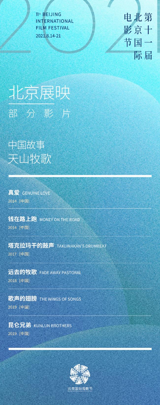 北京国际电影节展映片单出炉!设庆祝建党百年特展