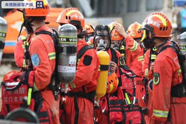 珠海隧道透水事故:仍然无法联系到被困人员
