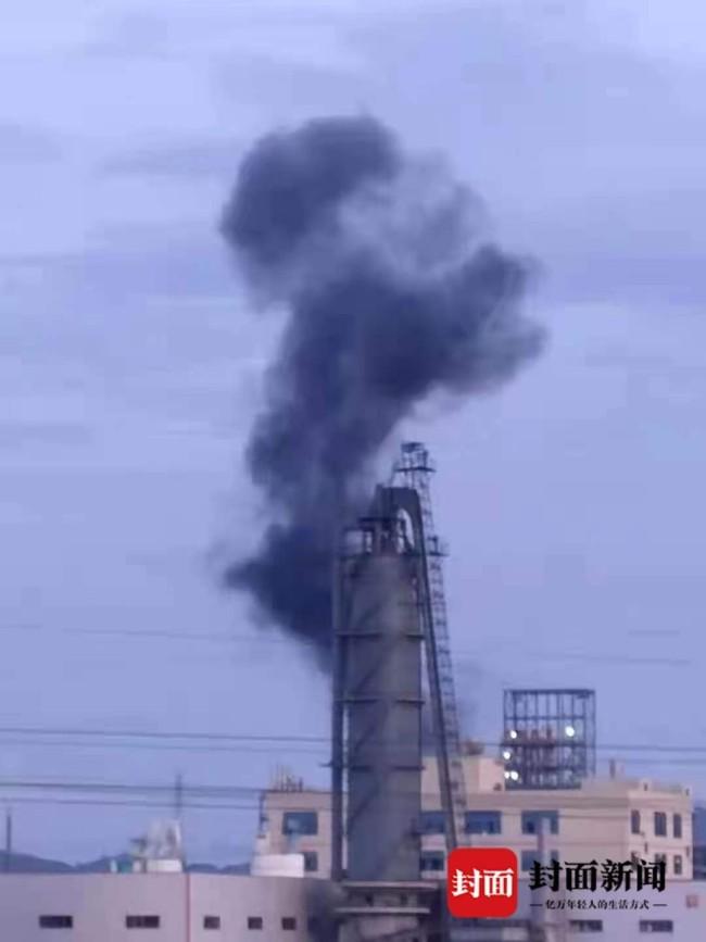 7月16日前后,九二工业基地内发生事故