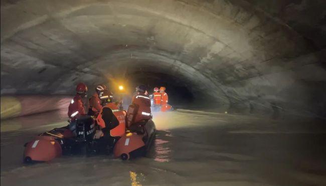 珠海隧道透水事故最新进展:搜到3名被困者均遇难