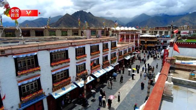 时政现场评丨跟随总书记的脚步 体会西藏考察之行的三个关键词