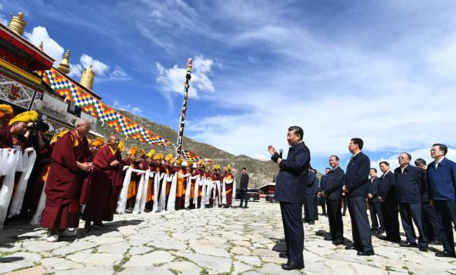 把祖国边疆建设得更美好——习近平总书记考察西藏回访记