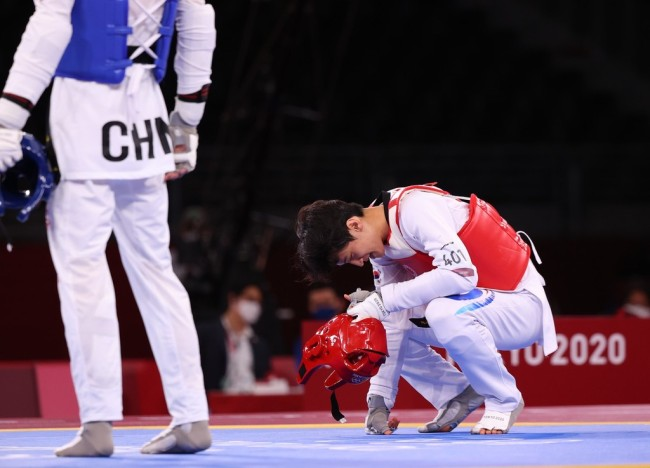 错失奥运铜牌后 韩国跆拳道名将李大勋宣布退役