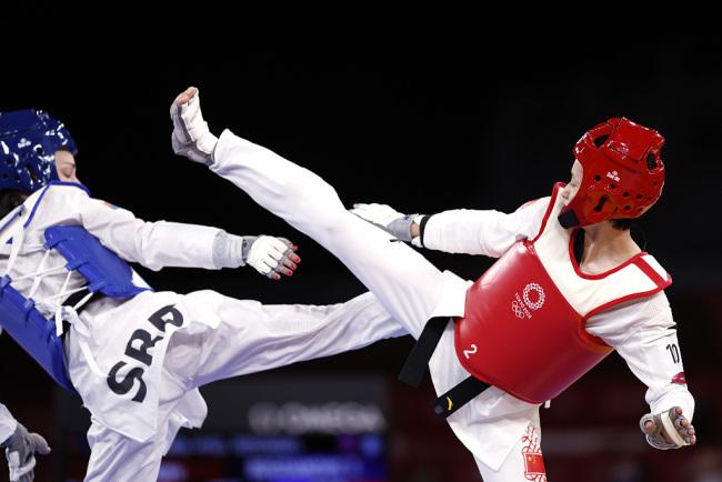 吴静钰谈面对失利:这届奥运经历让我人生更加完整