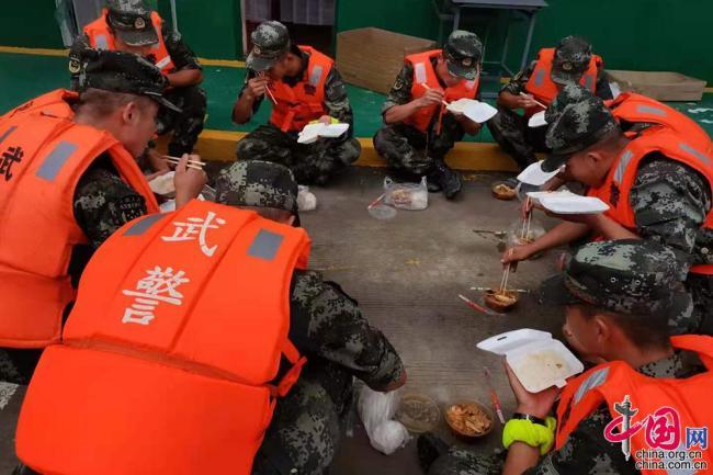 28家地方公司精准保障 军地联动助力抗洪抢险