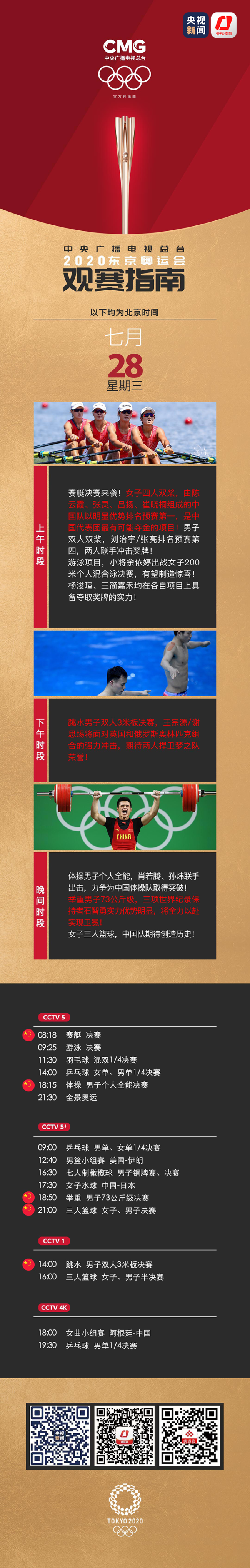 中国赛艇迎来冲金时刻!国乒男女单打齐出战