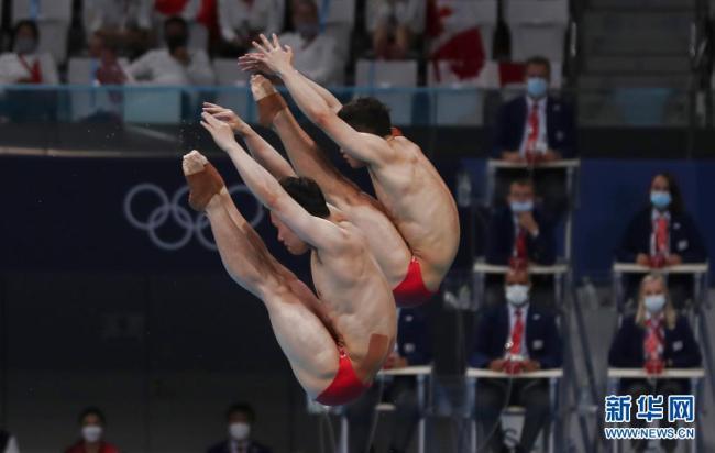 东京奥运会 今日份中国队金牌瞬间
