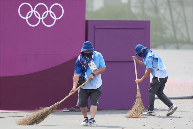 东京奥组委就大量盒饭遭弃出面致歉:餐订多了