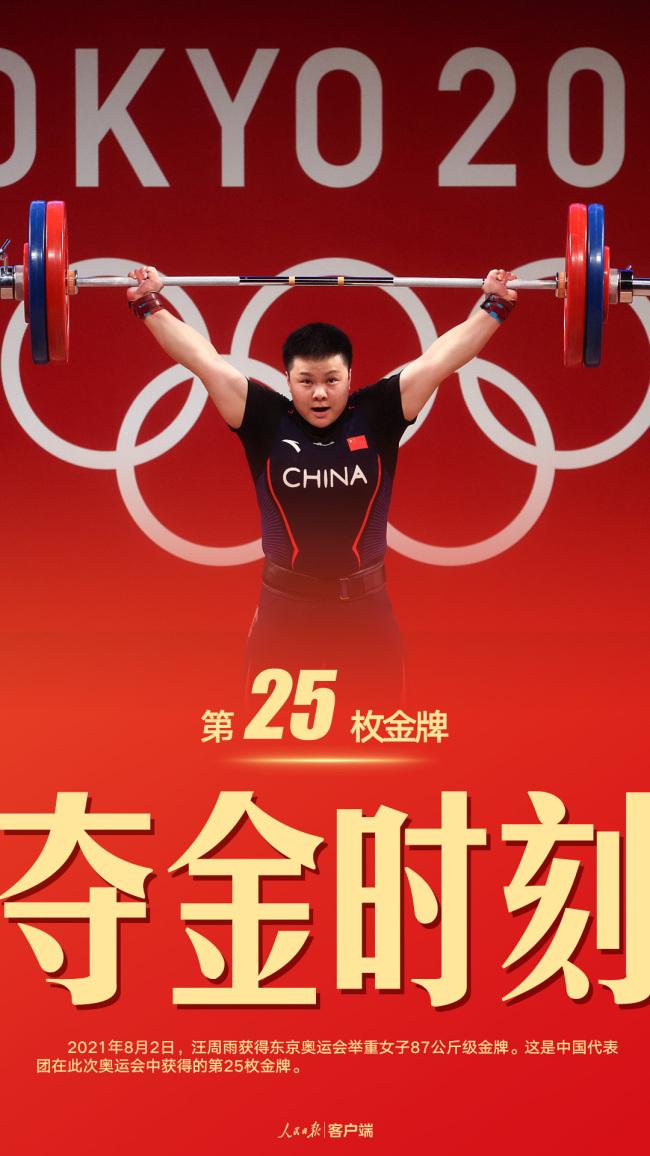 中国队单日揽5金3银3铜