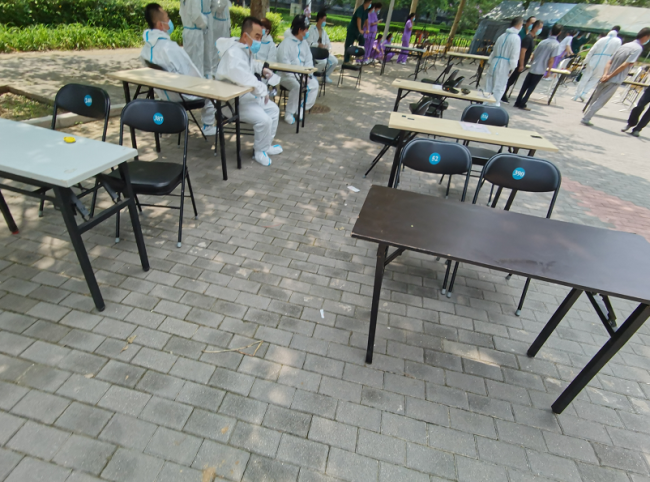 望京国风上观小区:志愿者对接居民需求,将启动核酸检测