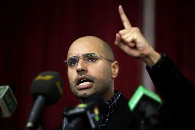 卡扎菲之子现身!遭通缉的他竟瞄上总统之位?