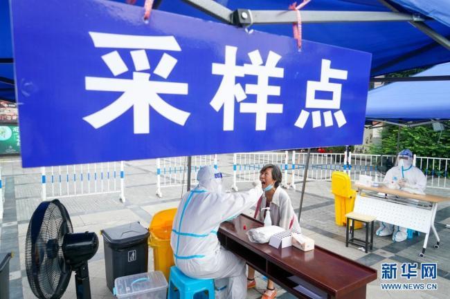 扬州开展第三轮大规模核酸检测