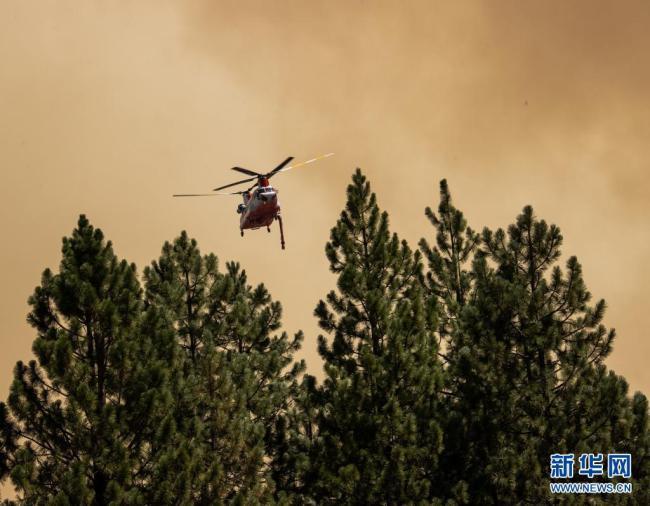 加州北部山火肆虐