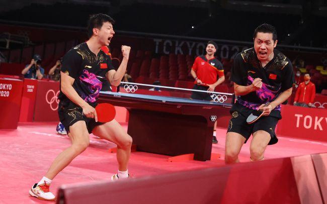 第35金!国乒男团3-0横扫德国夺冠