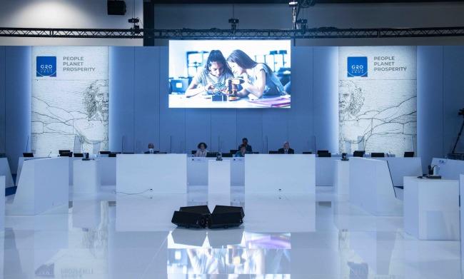 △二十国集团高等教育与研究部长会议现场 (图片来自G20会议官网)