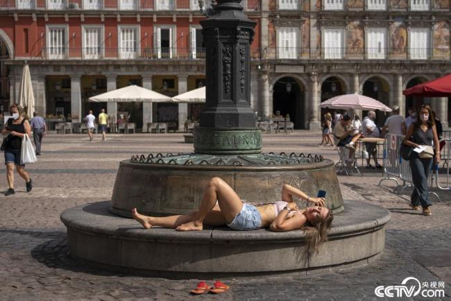 热浪袭欧洲 西班牙气温达47.2℃