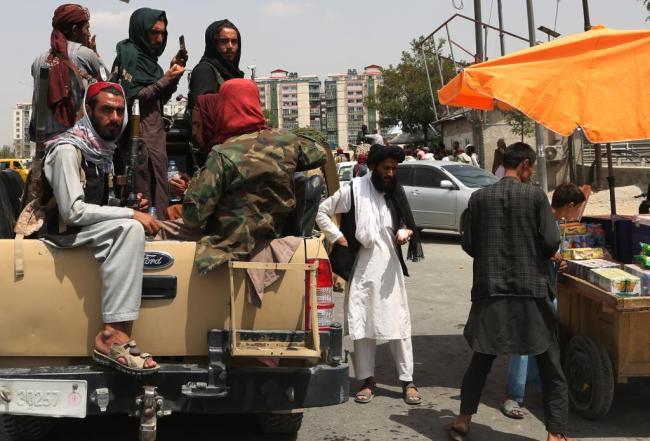 4名塔利班人員來到新華社喀布爾分社:要正常上班