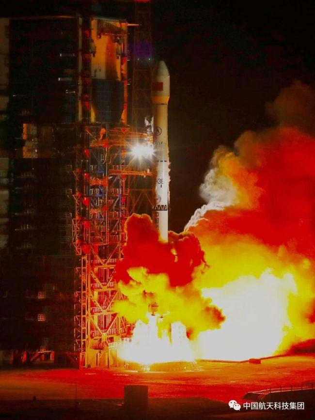 4小时后又得胜!长三乙成功发射通信试验卫星七号