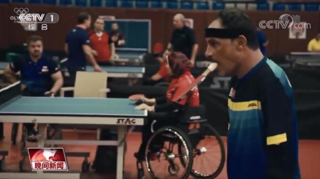 哈马托:用嘴打乒乓球的追梦者