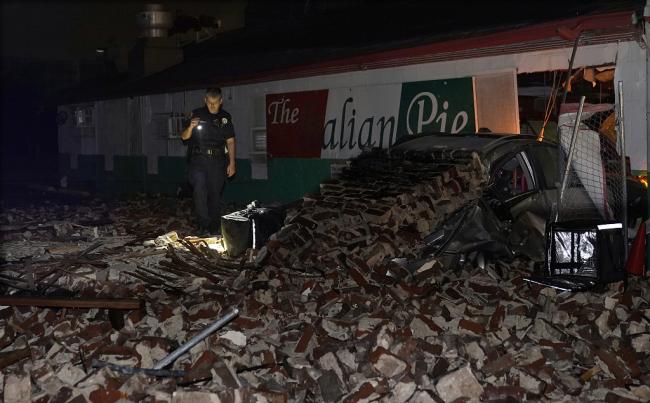 """飓风""""艾达""""登陆美国致1人死亡 新奥尔良全城停电"""