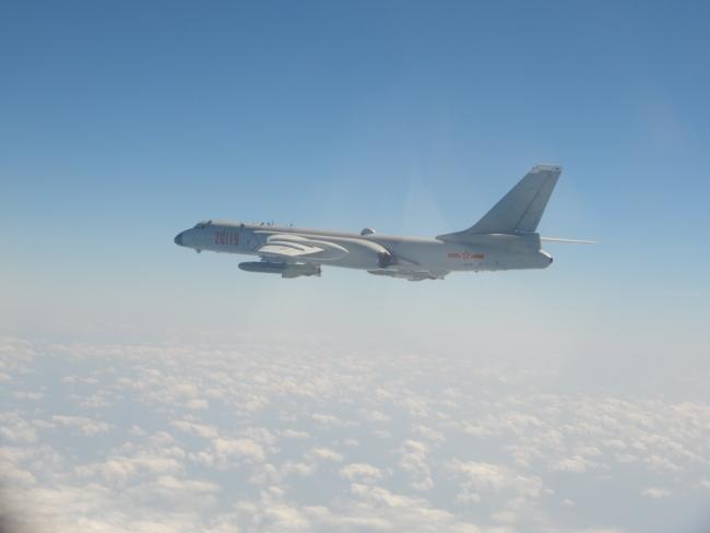 解放军昨日19架次军机进入台西南空域
