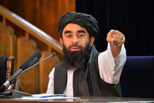 塔利班发言人穆贾希德