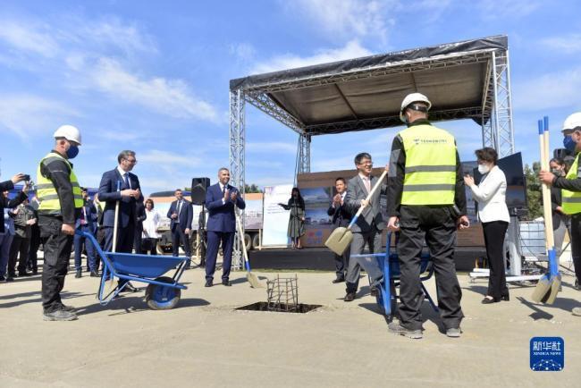 欧洲地区首家中国疫苗工厂奠基仪式在塞尔维亚举行